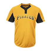 Custom Pirates Two-Button Jersey - Pirates-MAI383 Pirates-MAI383
