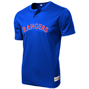 Rangers MLB 2 button Youth Jersey  - MA0181 Rangers-MA0181