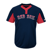 Custom Red Sox Two-Button Jersey - Red-Sox-MAI383 Red-Sox-MAI383