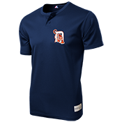 Tigers MLB 2 button Youth Jersey  - MA0181 Tigers-MA0181