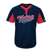 Custom Twins Two-Button Jersey - Twins-MAI383 Twins-MAI383