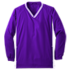 Youth_Tipped_V_Neck_Raglan_Wind_Shirt_YST62_Purple_White