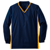 Youth_Tipped_V_Neck_Raglan_Wind_Shirt_YST62_True_Navy_Gold