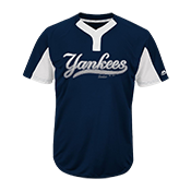 Custom Yankees Two-Button Jersey -  Yankees-MAI383 Yankees-MAI383