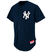 Yankees Official MLB Full Button Youth Jersey - MA654Y Yankees_FullButton_Jersey_Youth_M684Y