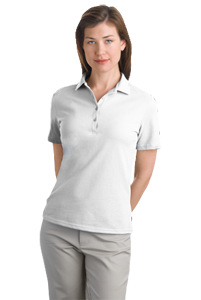 Ladies Pique Hanes Polo 035X