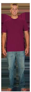 American Apparel - Unisex Fine Jersey T-Shirt 2001 2001