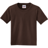 JERZEES-Youth-Dri-Power-Active-50-50-Cotton-Poly-T-Shirt-29B_Chocolate