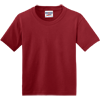 JERZEES-Youth-Dri-Power-Active-50-50-Cotton-Poly-T-Shirt-29B_Crimson