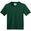JERZEES-Youth-Dri-Power-Active-50-50-Cotton-Poly-T-Shirt-29B_Forest-Green