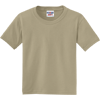 JERZEES-Youth-Dri-Power-Active-50-50-Cotton-Poly-T-Shirt-29B_Khaki