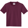 JERZEES-Youth-Dri-Power-Active-50-50-Cotton-Poly-T-Shirt-29B_Maroon
