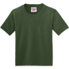 JERZEES-Youth-Dri-Power-Active-50-50-Cotton-Poly-T-Shirt-29B_Military-Green