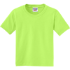 JERZEES-Youth-Dri-Power-Active-50-50-Cotton-Poly-T-Shirt-29B_Neon-Green