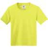 JERZEES-Youth-Dri-Power-Active-50-50-Cotton-Poly-T-Shirt-29B_Neon-Yellow