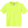 JERZEES-Youth-Dri-Power-Active-50-50-Cotton-Poly-T-Shirt-29B_Safety-Green