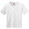 JERZEES-Youth-Dri-Power-Active-50-50-Cotton-Poly-T-Shirt-29B_White