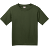 Fruit-of-the-Loom-Youth-HD-Cotton-100-Cotton-T-Shirt-3930B_Military-Green