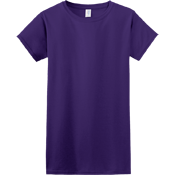 Womens Junior Shirts & Tees Gildan® Ladies SoftStyle™ Cotton T-Shirt 64000L