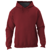 NuBlend-Unisex-Hooded-Sweatshirt-996MR-Vintage-Heather-Maroon