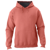 NuBlend-Unisex-Hooded-Sweatshirt-996MR-Vintage-Heather-Red
