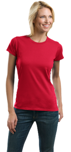 Womens Fitted Shirt - Port Authority® - Ladies Concept Crewneck Tee LM1001 LM1001