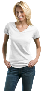 Port Authority® - Ladies Concept V-Neck Tee