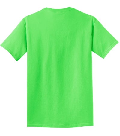 Neon T Shirts Custom Shirt #0: PC099 NeonGreen essential pigment dyed tee