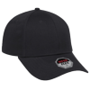 11-1164-003-Stretchable-Low-Profile-Baseball-Cap-Black
