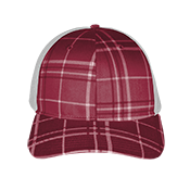 Plaid Twill/Mesh Snapback  - 114 114