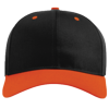 Pro-Twill-Snapback-Cap-212-Black-Orange