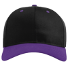 Pro-Twill-Snapback-Cap-212-Black-Purple