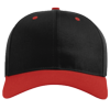 Pro-Twill-Snapback-Cap-212-Black-Red