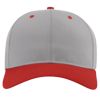 Pro-Twill-Snapback-Cap-212-Gray-Red