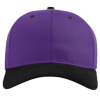 Pro-Twill-Snapback-Cap-212-Purple-Black