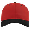 Pro-Twill-Snapback-Cap-212-Red-Black
