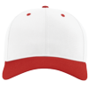 Pro-Twill-Snapback-Cap-212-White-Red