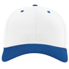 Pro-Twill-Snapback-Cap-212-White-Royal