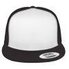 Flat-Bill-Trucker-Hat-6006W-Black