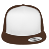 Flat-Bill-Trucker-Hat-6006W-Brown