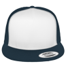 Flat-Bill-Trucker-Hat-6006W-Navy