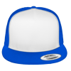 Flat-Bill-Trucker-Hat-6006W-Royal