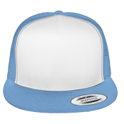 Classic White Front Panel Trucker Hat  - 6006W 6006W