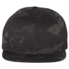 Wool-Blend-Flat-Bill-Snapback-Cap-6089M-Multicam-Black