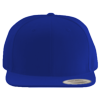 Wool-Blend-Flat-Bill-Snapback-Cap-6089M-Royal