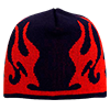 91-633-0402-Flame-Design-Acrylic-Beanie-Navy-Red