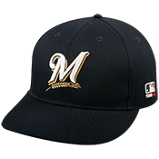 Milwaukee Brewers Official MLB Hat for Little Kids Leagues Brewers_Baseball_Hat_275