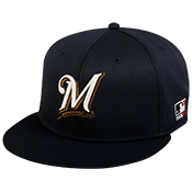 Brewers Flatbill Baseball Hat Brewers_Flatbill_Baseball_Hat_400