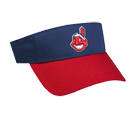 Cleveland Indians - Official MLB Visor for Little Kids Softball League Indians-Visors