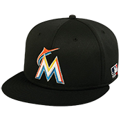 Marlins Flatbill Baseball Hat Marlins_Flatbill_Baseball_Hat_400